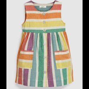 NEXT UK rainbow dress